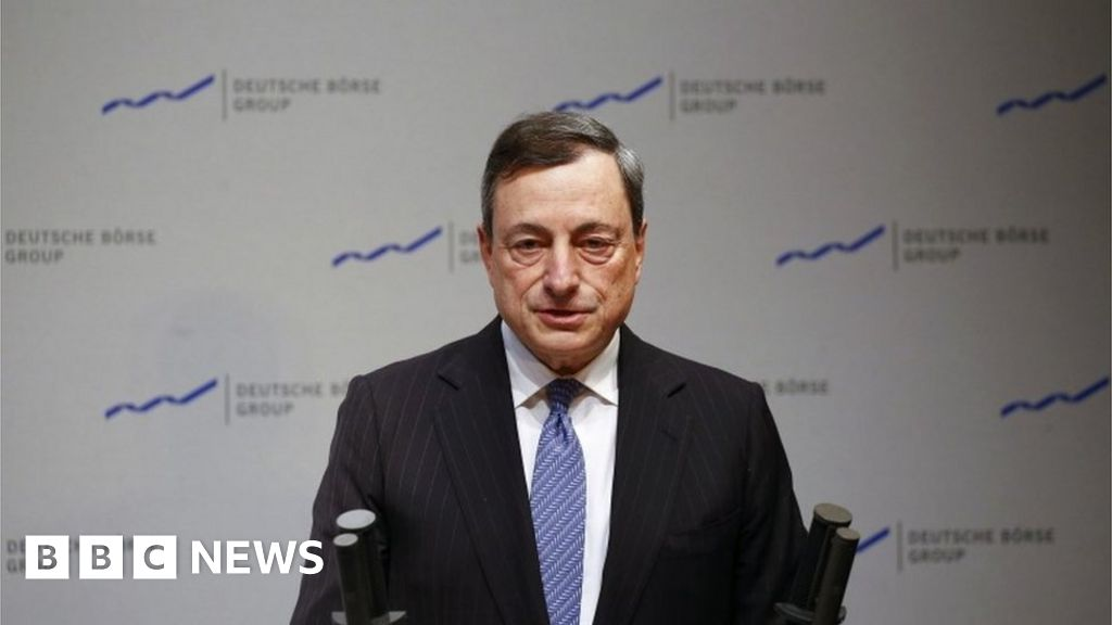 ECB's Draghi rejects criticism over inflation pledge - BBC News