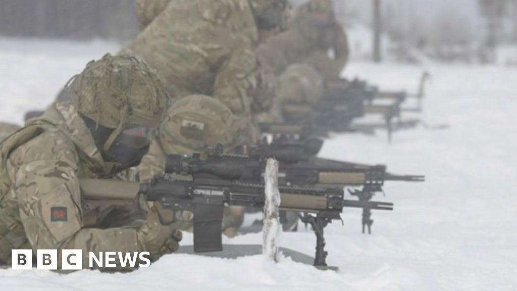 The Welsh soldiers keeping the Estonian border safe