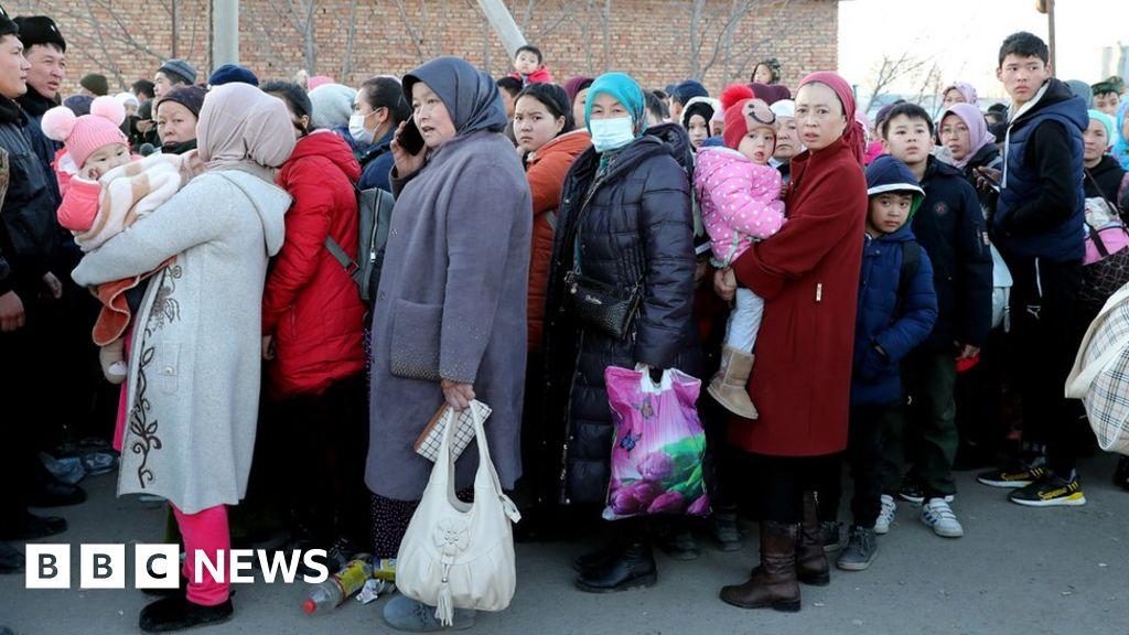 Refugees flee Kazakhstan after ethnic clashes