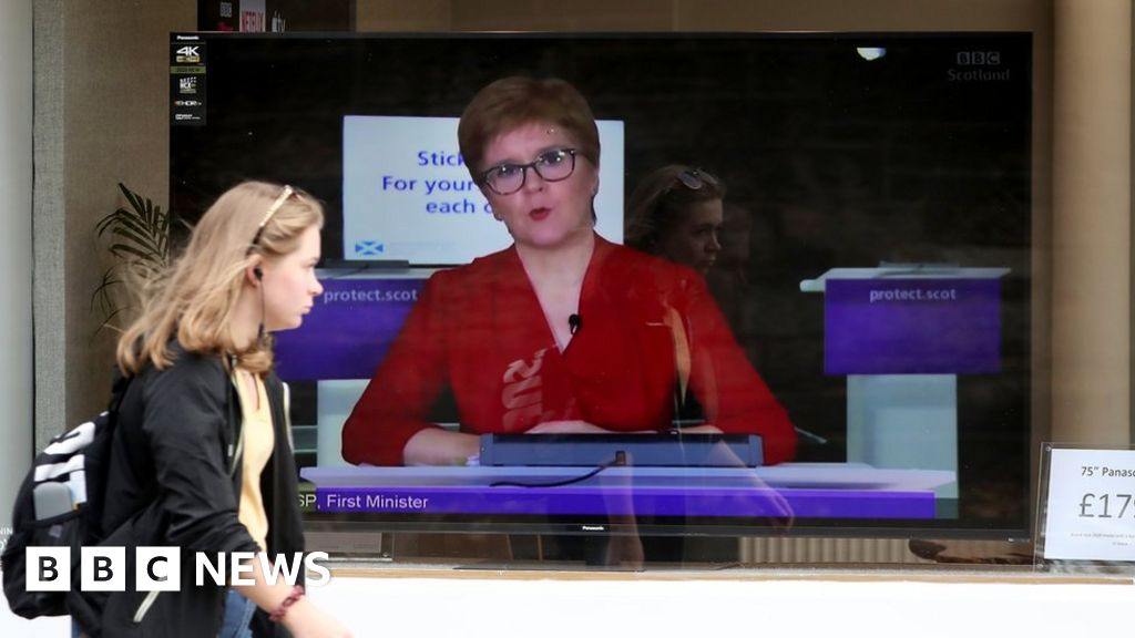 Covid in Scotland: Sturgeon to set out five-tier alert system
