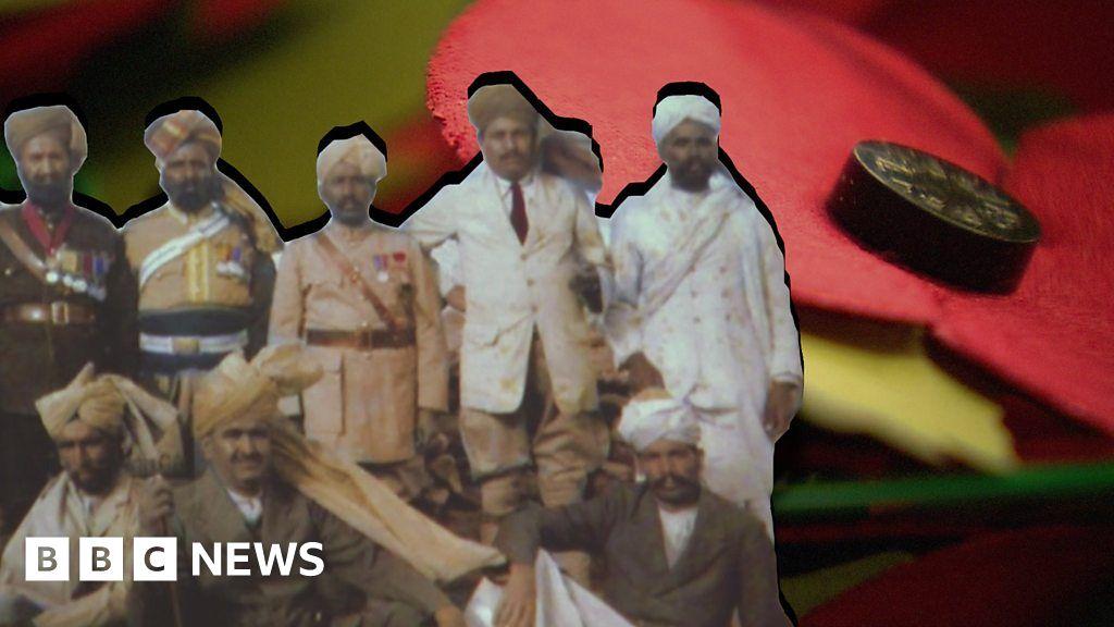 Khadi Poppy Marks India S Ww1 Servicemen Bbc News
