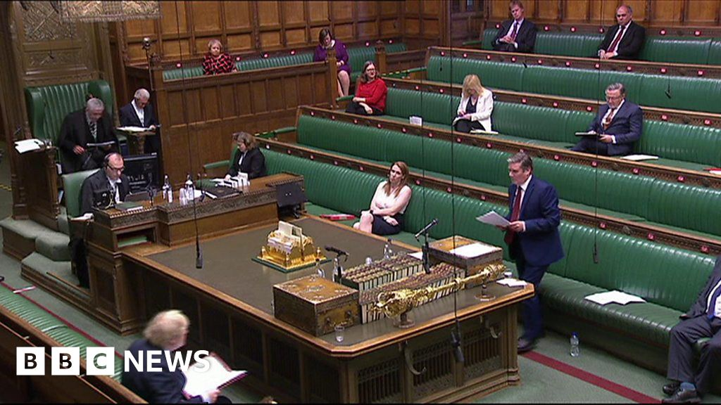 PMQs: Starmer and Johnson on NHS fee for overseas care workers thumbnail