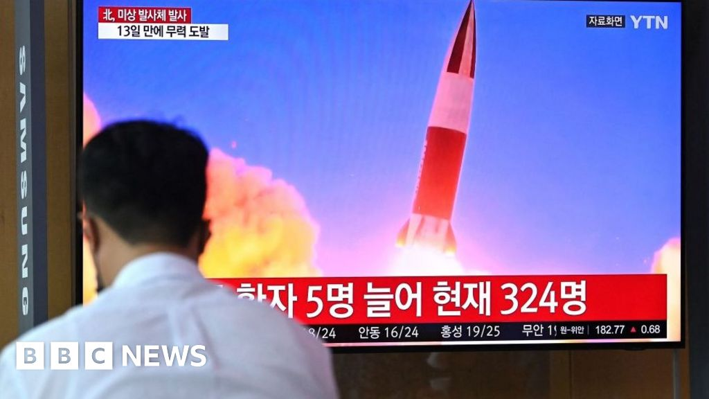 North Korea fires projectile, says South's military