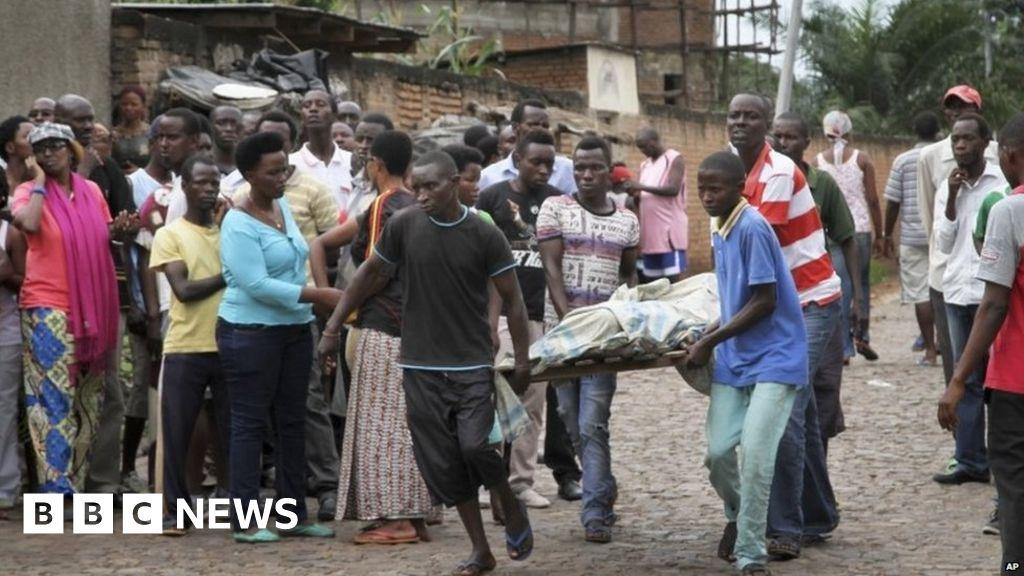 Hjalparbetare dodade i rwanda