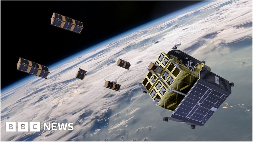 UK Space Agency funds tech for orbital awareness - BBC News