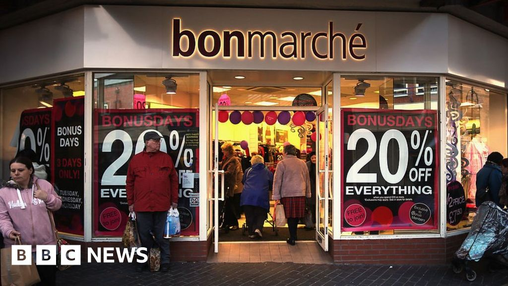 Bonmarché shares halve after sales slump