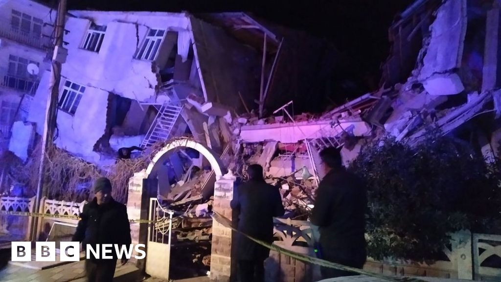 Turkey earthquake: At least 19 dead as buildings collapse
