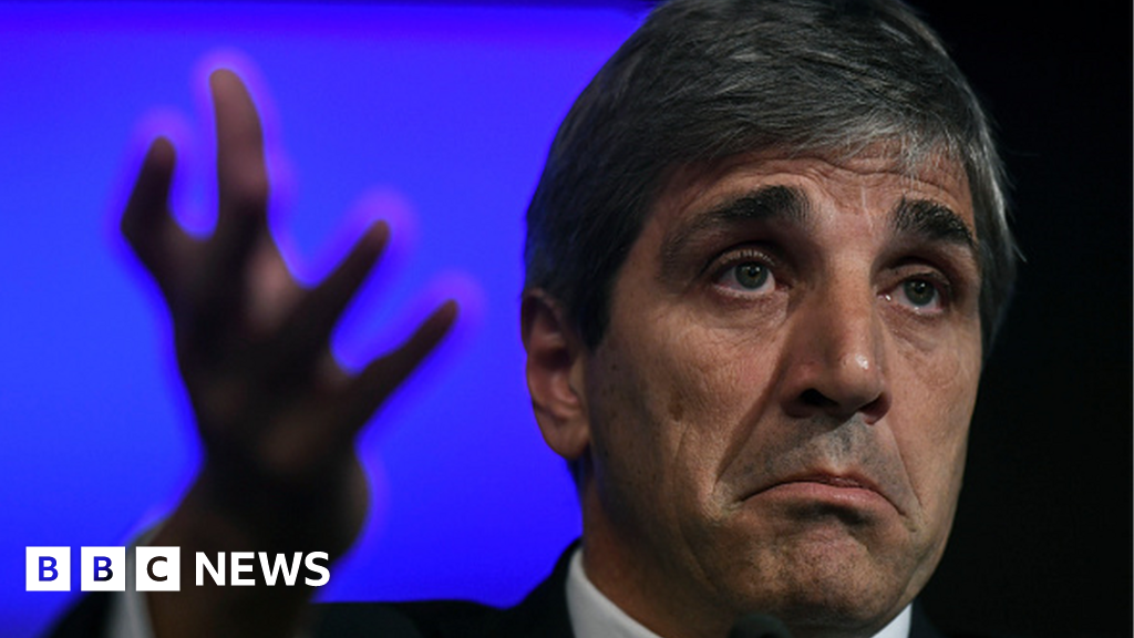 Argentina's central bank boss Luis Caputo quits after three months