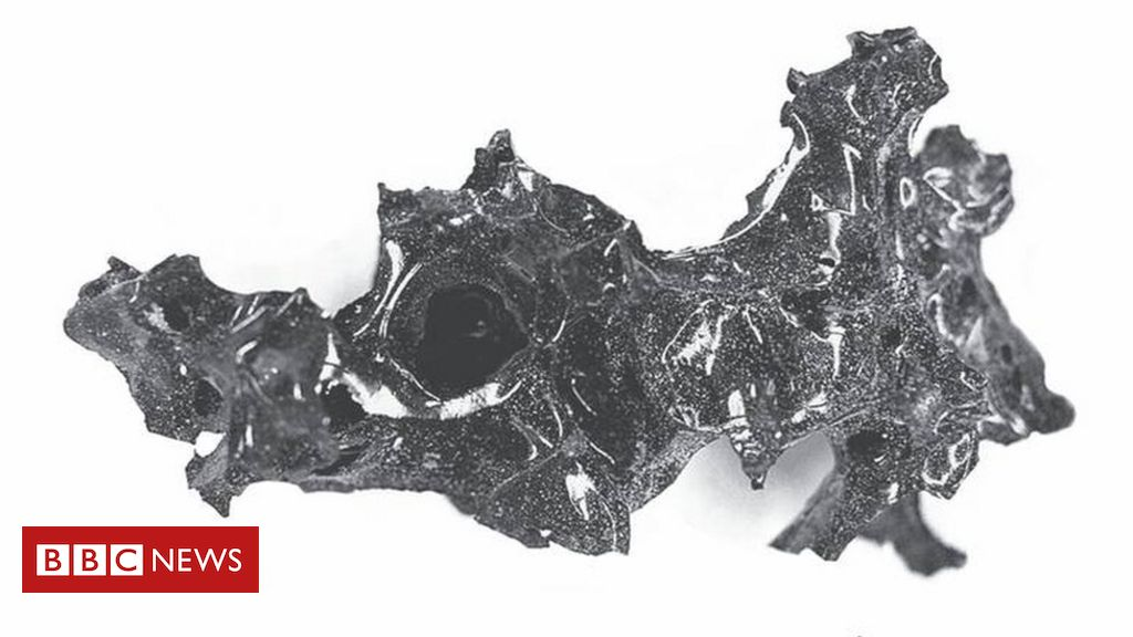 Vesuvius eruption 'turned man's brain to glass'