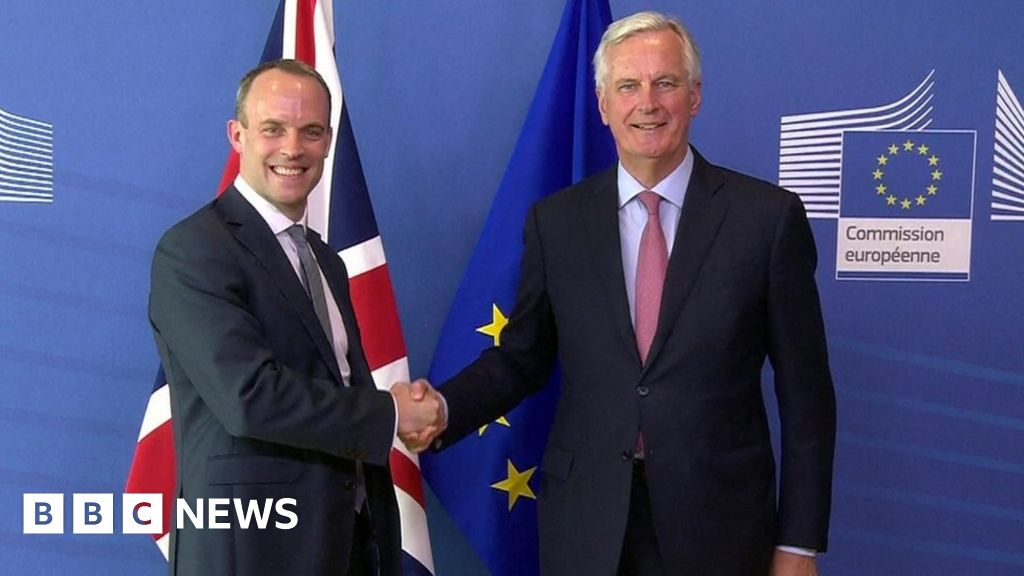 New Brexit Secretary Dominic Raab vows to 'intensify ...