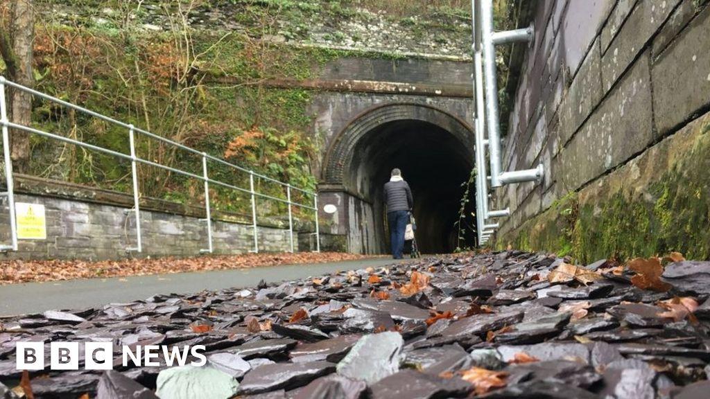 Inside the Rhondda Tunnel