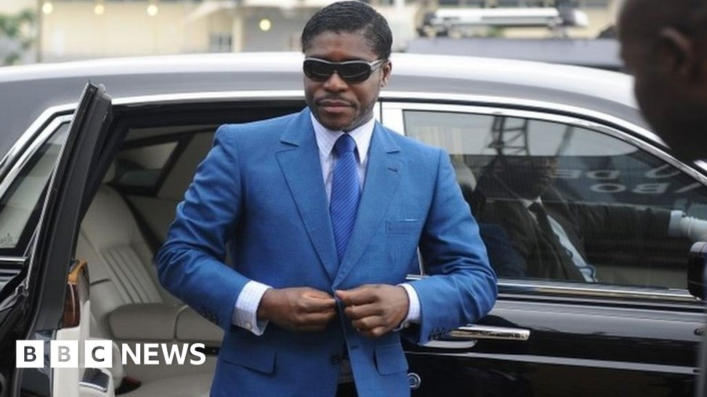 French court fines flamboyant Equatorial Guinea VP