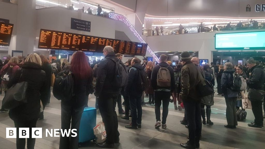 England floods: Major disruption on trains as rain persists