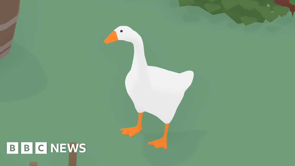 How a horrible goose topped the gaming chart