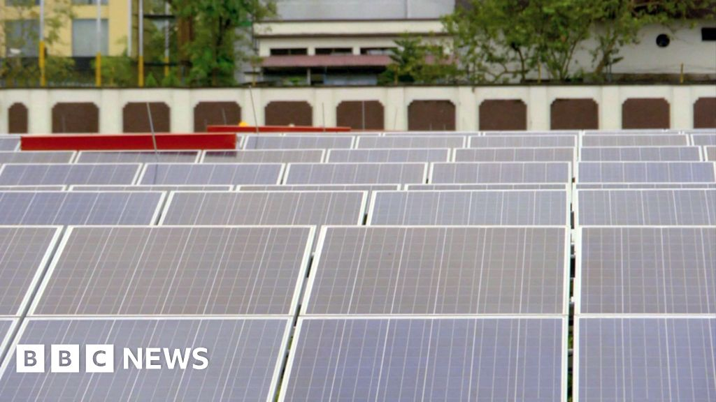 WATCH: The world's first solar-powered airport