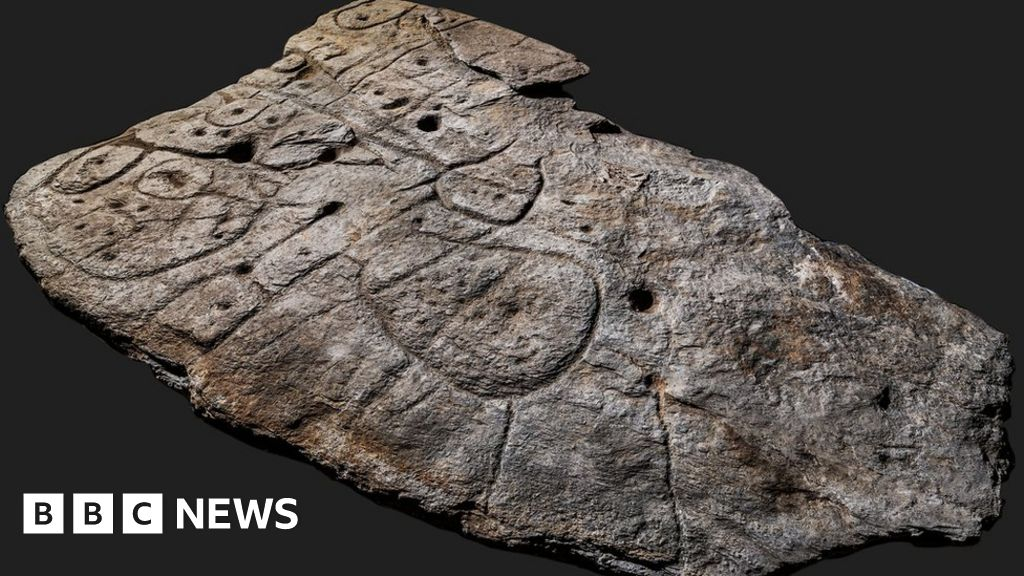 The Bronze Age slab found in France is the oldest 3D map of Europe