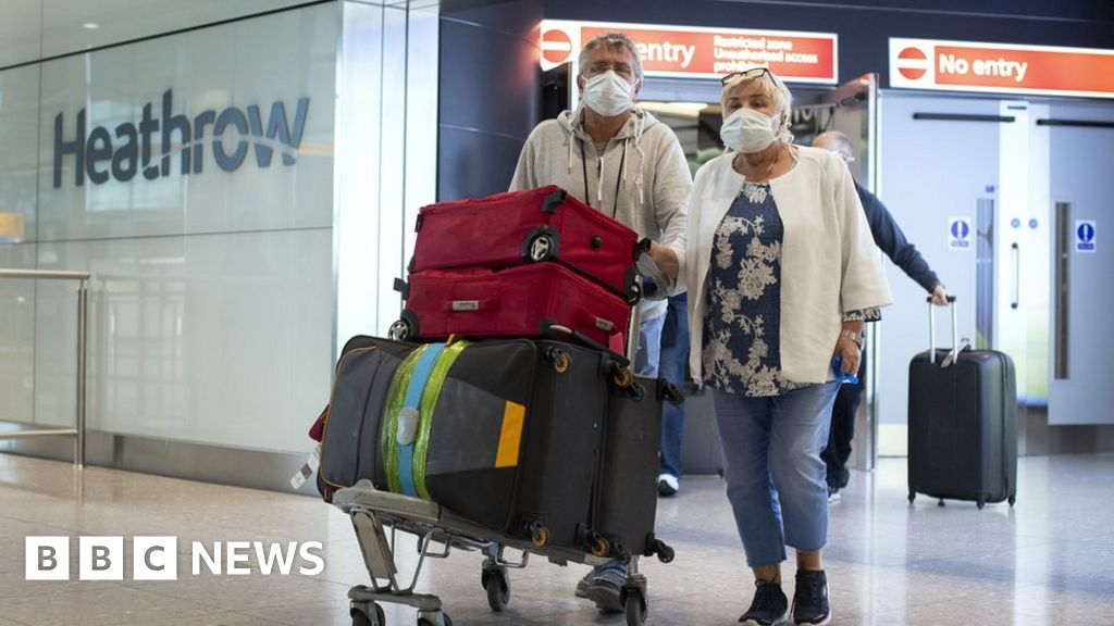 Coronavirus: Ministers 'looking at ways to relax travel quarantine rule'