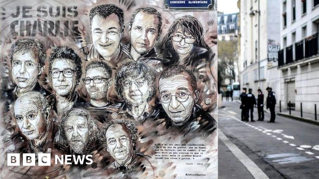 Charlie Hebdo 14 Suspects On Trial Over Paris Massacre Bbc News