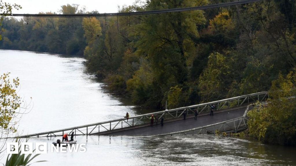Teenage girl dies in French bridge collapse horror