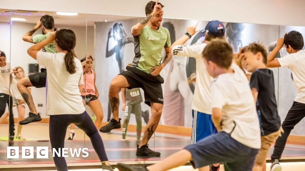 Sensational Can Children Floss Their Way To Fitness Bbc News Squirreltailoven Fun Painted Chair Ideas Images Squirreltailovenorg
