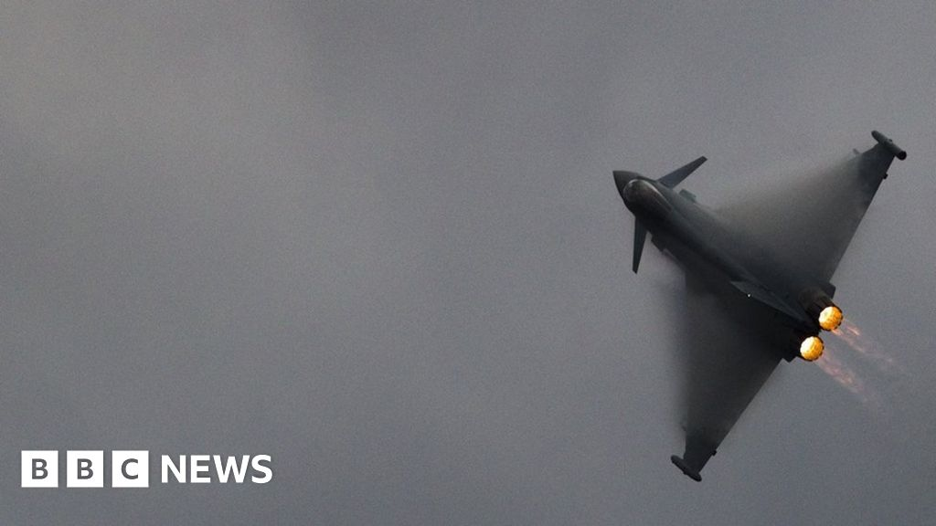 RAF jets scrambled to supersonic bombers