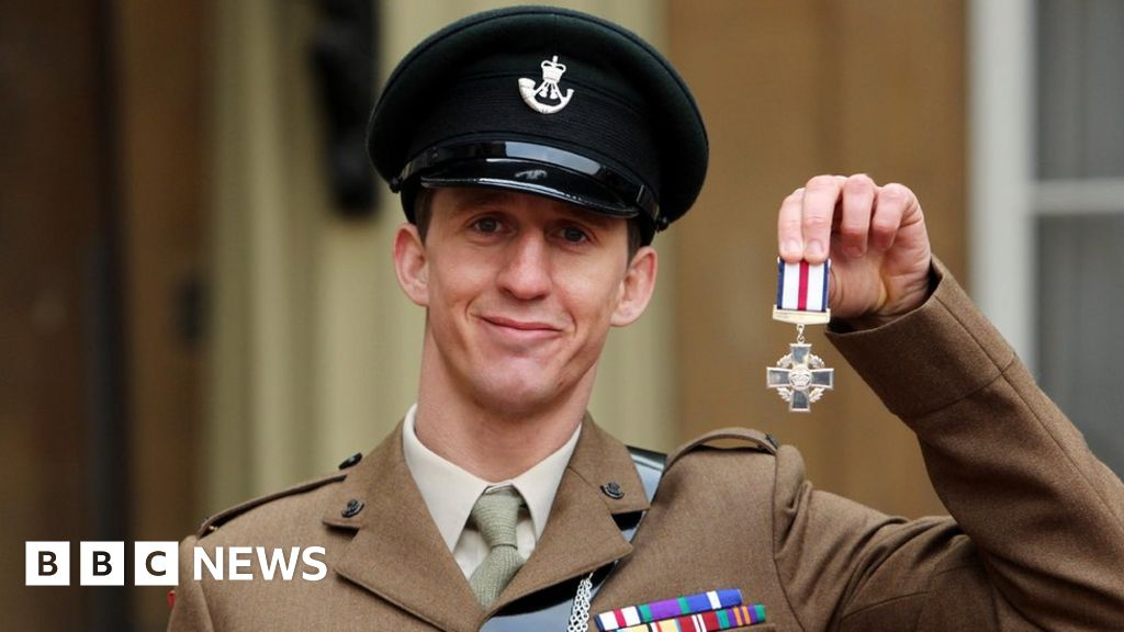 Deacon Cutterham's medal-winning heroic actions questioned ahead of auction