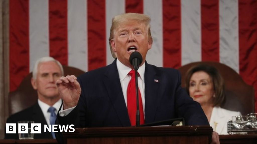 Trump hails 'American comeback' in Congress speech