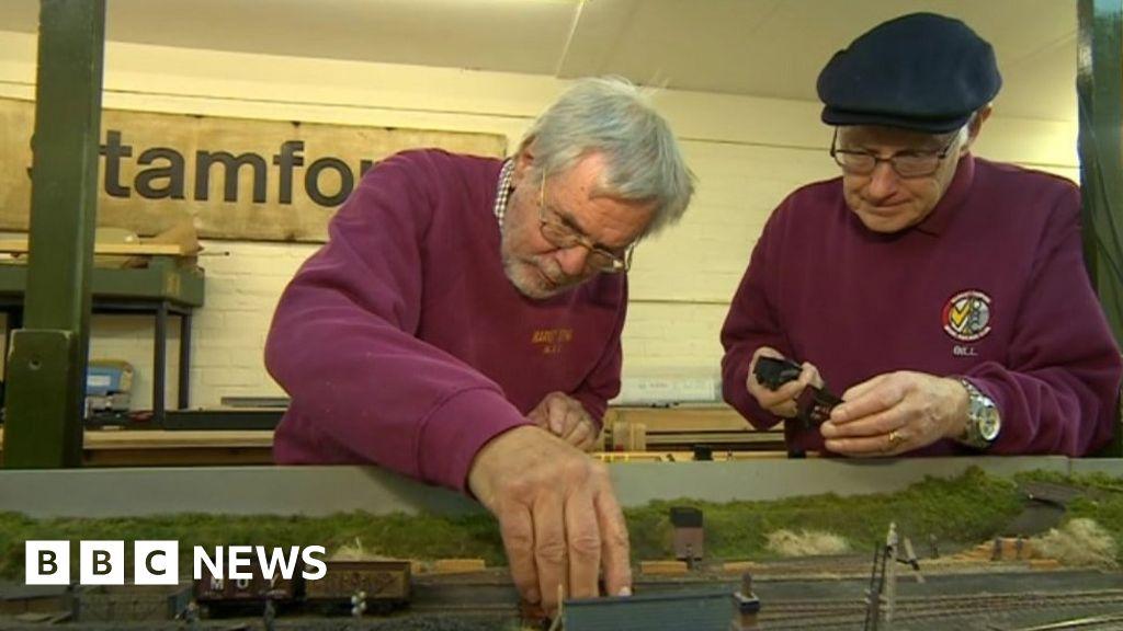 Model railway, rebuilt with Sir Rod Stewart s help, goes on display