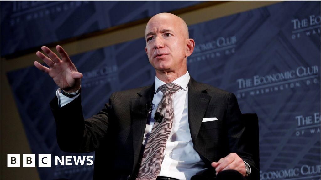 Amazon's Jeff Bezos backs tax rise on companies  image