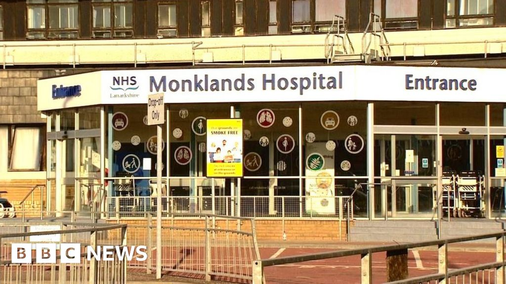 Legionella bacteria found in water at Monklands Hospital