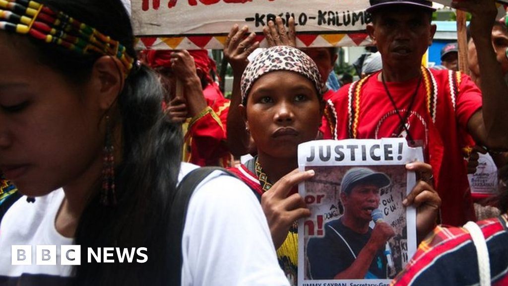 How Filipino activists ended up on a 'wanted' poster
