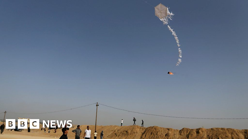 Where kites and balloons are weapons
