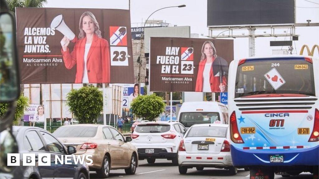 Peru votes in unpredictable election for Congress