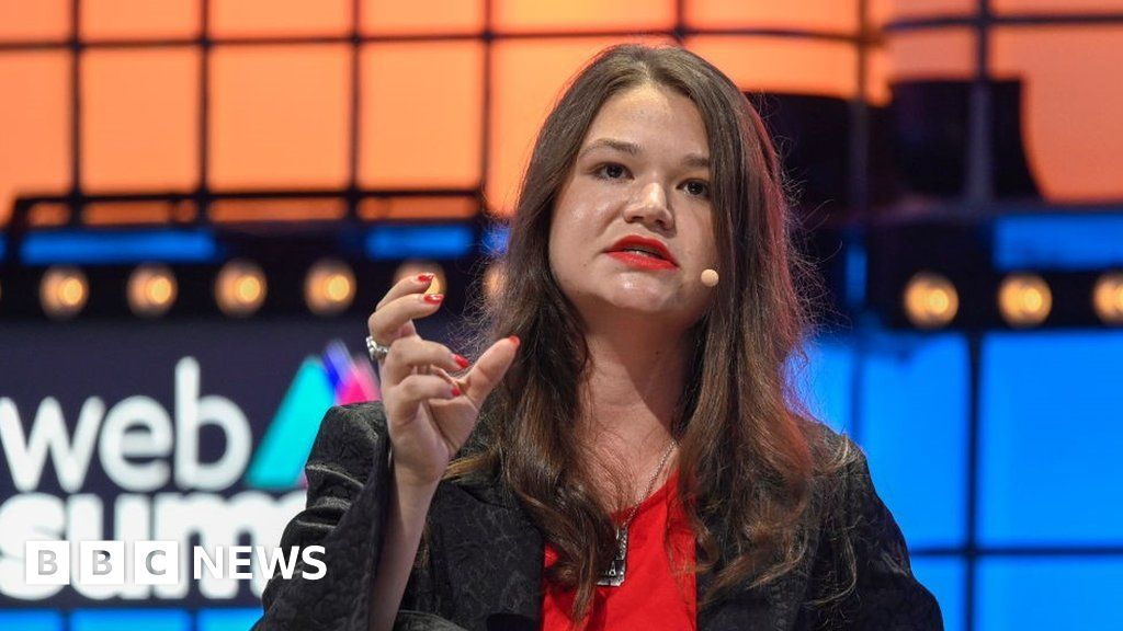 Brittany Kaiser calls for Facebook political ad ban at Web Summit
