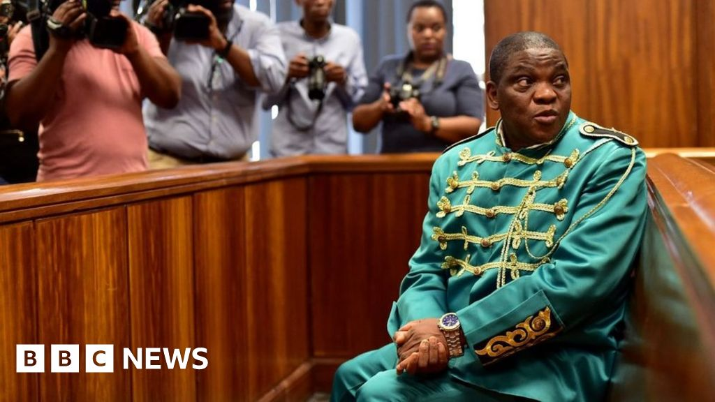 South Africa shocked by live rape trial of Timothy Omotoso - BBC News