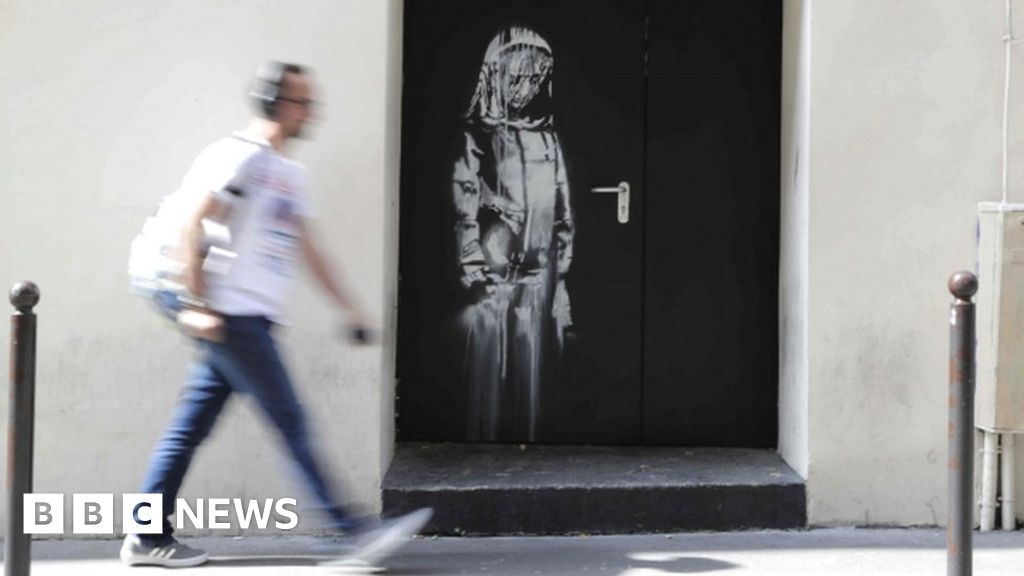 Banksy artwork stolen from Bataclan found in Italy thumbnail