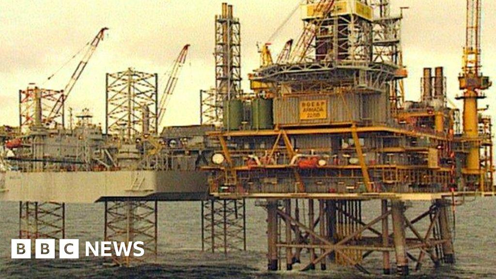 shell was ordered to shut down north sea armada platform