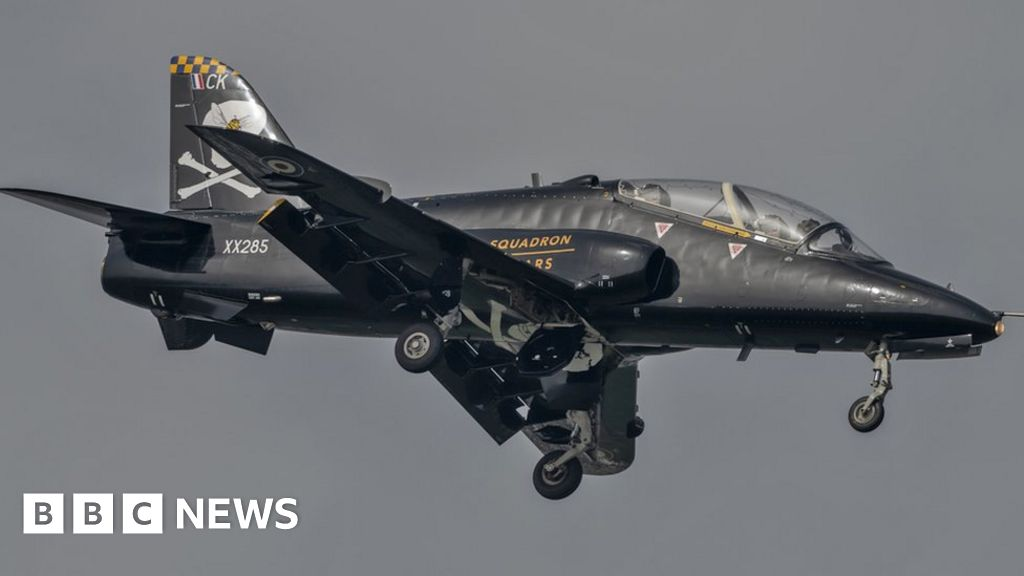 RNAS Culdrose Hawk jets resume flying after crash