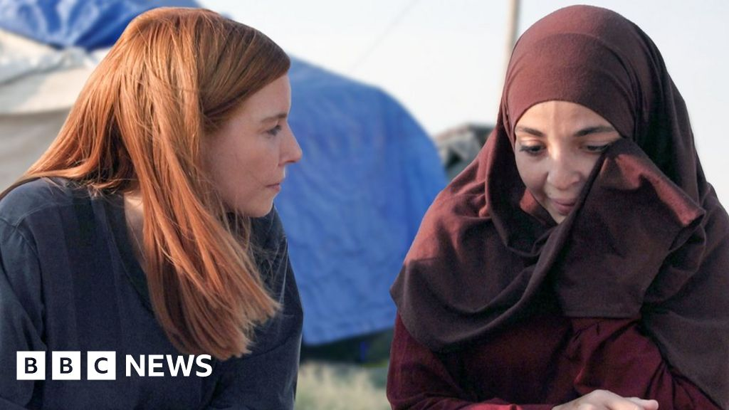 Stacey Dooley meets Islamic State brides in Syria s refugee camps