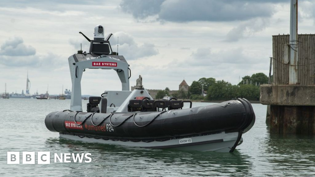 Royal Navy-the first crewless boat is ready for testing