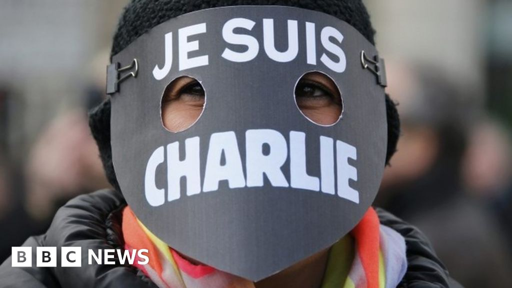 Charlie Hebdo Magazine Republishes Controversial Mohammed Cartoons Bbc News