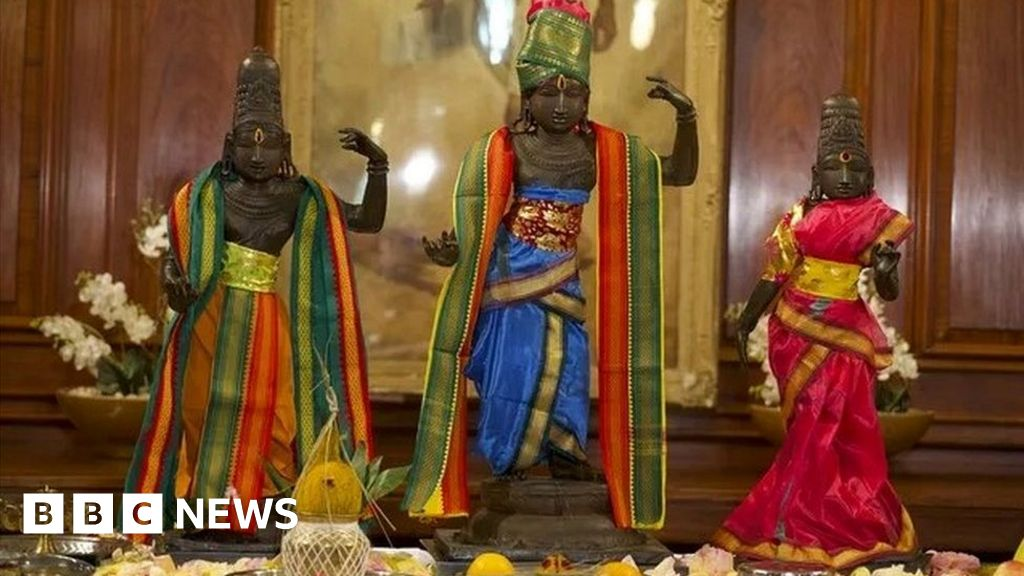 Indian sculptures stolen 40 years ago to be returned thumbnail