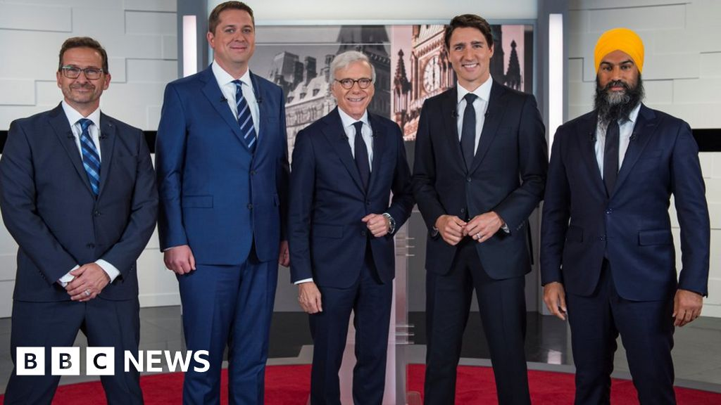 Canada leaders clash in first election debate
