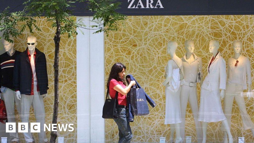 Online sales surge boosts Zara owner Inditex