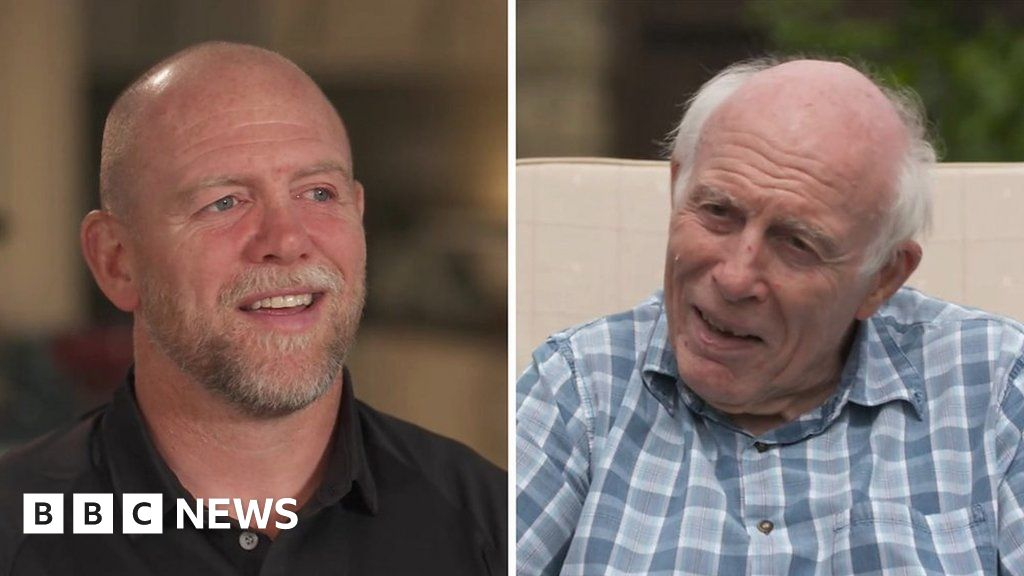 Ex-England captain reunites with dad with Parkinson's