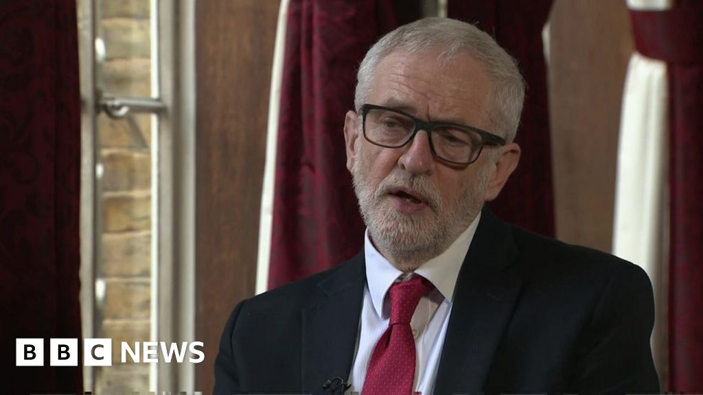 Jeremy Corbyn: 'I did everything I could to lead Labour'