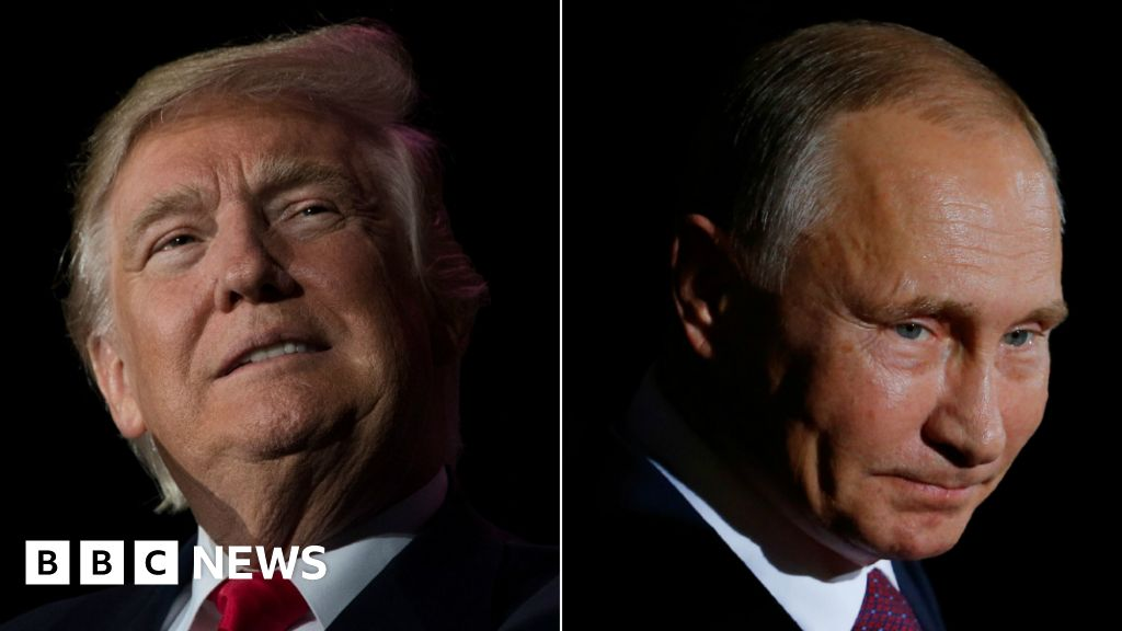 Russia: The 'cloud' over the Trump White House - BBC News