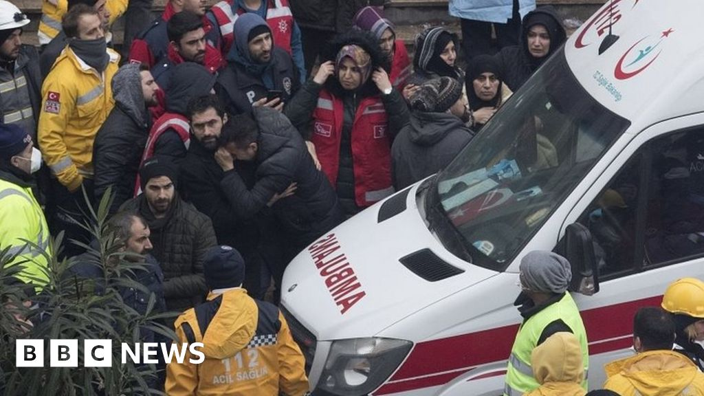 Boy pulled alive from Istanbul collapse
