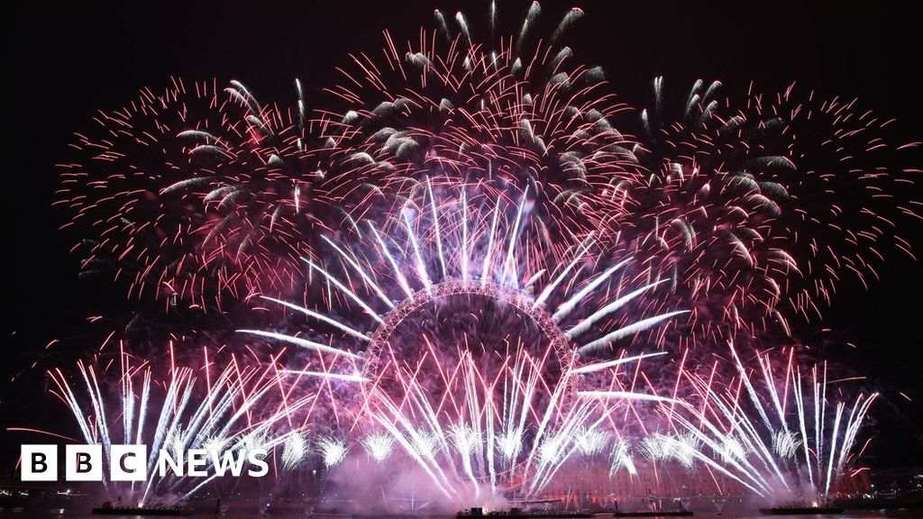 London counts down to new year fireworks