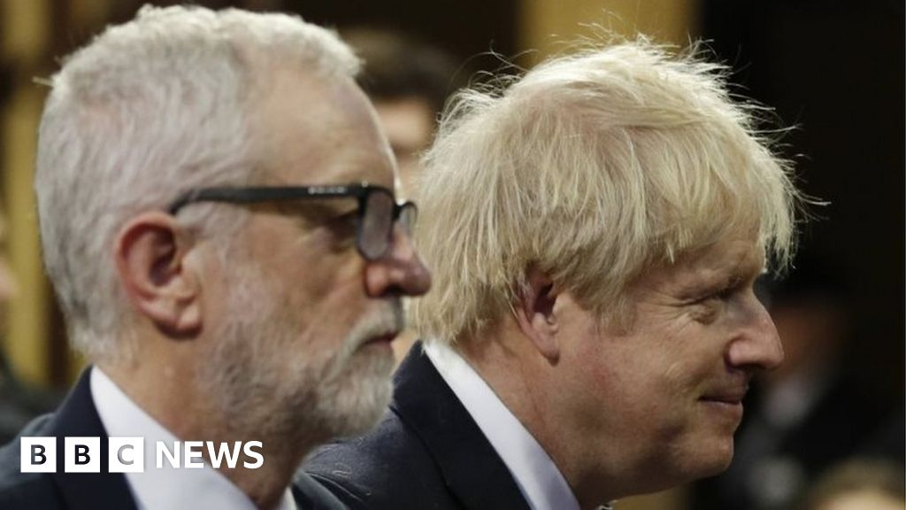 Boris Johnson and Jeremy Corbyn praise NHS in Christmas messages